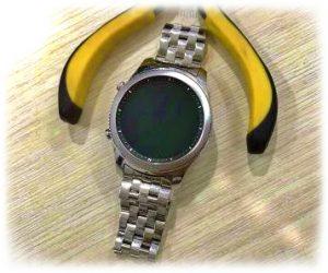 Thay Dây đồng hồ kim loại 5 hạt mo màu bạc tại 1989W hcm