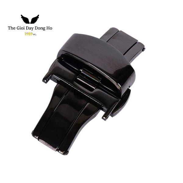 khóa bướm dây đồng hồ màu đen