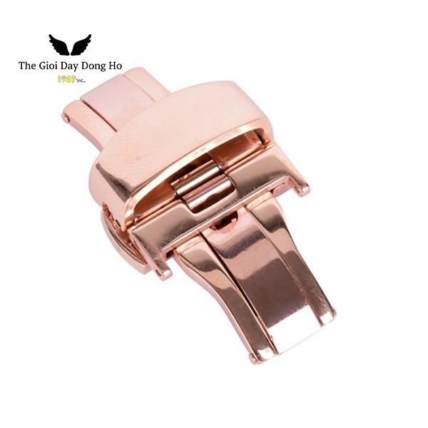 khóa bướm dây đồng hồ màu đồng