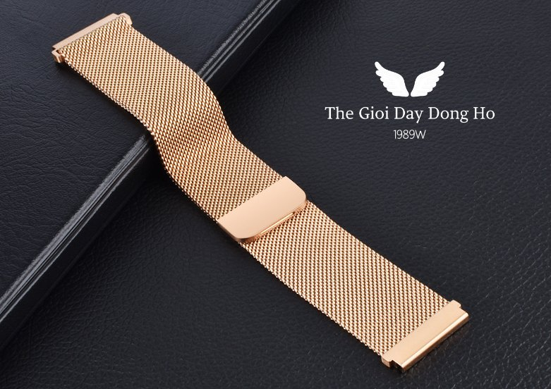 day Milanese Loop nam cham hut dong