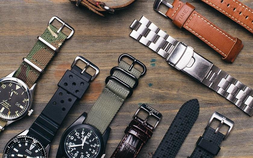 Có rất nhiều loại dây đồng hồ trên thị trường